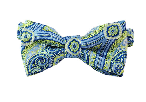 Woven Paisley Bow Tie