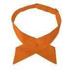 CO-03 | Solid Crossover Ties for Women in Orange