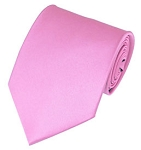 PS-15 | Solid Pink Traditional Men's Necktie