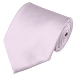 PS-17 | Solid Light Pink Traditional Men's Necktie