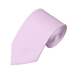 SL-17 | Solid Light Pink Slim Tie For Men