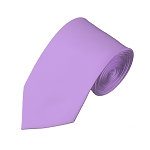 SL-28 | Solid Lavender Slim Tie For Men