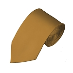 SL-44 | Solid Copper Slim Tie For Men