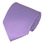 PS-28 | Solid Lavender Traditional Men's Necktie