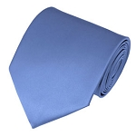 PS-30 | Solid Steel Blue Traditional Men's Necktie