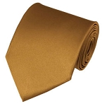 PS-44 | Solid Copper Traditional Men's Necktie