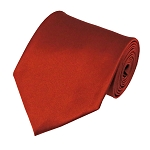 PS-56 | Solid Rust Traditional Men's Necktie