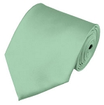 PS-66 | Solid Light Sage Green Traditional Men's Necktie