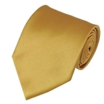 XL-75 | Solid Honey Gold Men's X-Long Tie