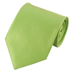PS-78 | Solid Pear Green Traditional Men's Necktie