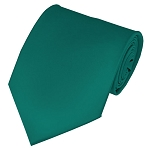 PS-84 | Solid Teal Green Traditional Men's Necktie