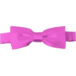 BTK-05 | Kids Solid Hot Pink Pre-Tied Bow Tie