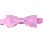 BTK-15 | Kids Solid Pink Pre-Tied Bow Tie
