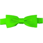 BTK-39 | Kids Solid Lime Green Pre-Tied Bow Tie