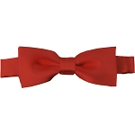 BTK-56 | Kids Solid Rust Red Pre-Tied Bow Tie