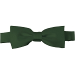 BTK-96 | Kids Solid Hunter Green Pre-Tied Bow Tie