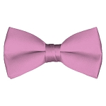 BT-10 | Solid Dusty Pink Men's Pre-Tied Bow Ties