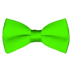BT-39 | Solid Lime Green Men's Pre-Tied Bow Ties