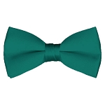BT-84 | Solid Teal Green Men's Pre-Tied Bow Ties
