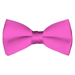 BT-05 | Solid Hot Pink Men's Pre-Tied Bow Ties