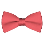 BT-06 | Solid Coral Rose Men's Pre-Tied Bow Ties