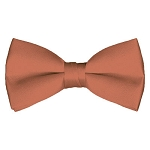 BT-08 | Solid Palm Coast Coral Men's Pre-Tied Bow Ties