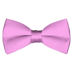 BT-15 | Solid Pink Men's Pre-Tied Bow Ties