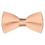 BT-16 | Solid Light Salmon Pre-Tied Bow Tie