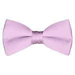BT-17 | Solid Light Pink Men's Pre-Tied Bow Ties