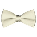 BT-21 | Solid Cream Men's Pre-Tied Bow Ties