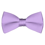 BT-28 | Solid Lavender Men's Pre-Tied Bow Ties