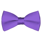 BT-29 | Solid Purple Men's Pre-Tied Bow Ties