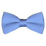 BT-30 | Solid Steel Blue Men's Pre-Tied Bow Ties