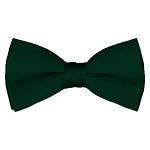 BT-37 | Solid Forest Green Men's Pre-Tied Bow Ties