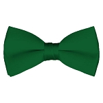BT-38 | Solid Kelly Green Men's Pre-Tied Bow Ties