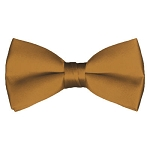 BT-44 | Solid Copper Men's Pre-Tied Bow Ties