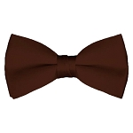 BT-55 | Solid Brown Men's Pre-Tied Bow Ties