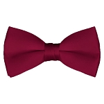 BT-57 | Solid Raspberry Pre-Tied Bow Tie