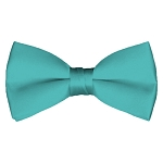 BT-74 | Solid Aqua Green Men's Pre-Tied Bow Ties