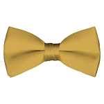 BT-75 | Solid Honey Gold Pre-Tied Bow Tie