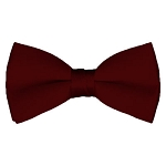BT-93 | Solid Maroon Men's Pre-Tied Bow Ties