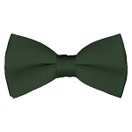 BT-96 | Solid Hunter Green Men's Pre-Tied Bow Ties