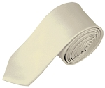 YS-21 | Boys' Solid Cream Necktie