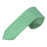 YS-33 | Boys' Solid Mint Green Necktie
