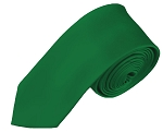 YS-38 | Boys' Solid Kelly Green Necktie