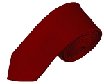 YS-62 | Boys' Solid Burgundy Necktie