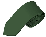 YS-96 | Boys' Solid Hunter Green Necktie