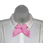 CO-15 | Solid Pink Crossover Tie for Women