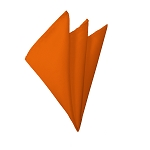 H-03 | Solid Orange Handkerchief