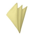 H-45 | Solid Light Yellow Handkerchief